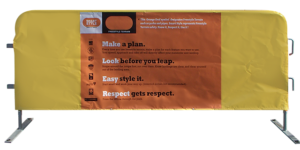 Directions on barrier jacket