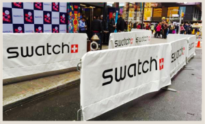 Swatch barrier jacket cover